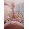 Domi lekvárt főz - Tartósított pillanatok (olaj, vászon 50×70, 2016)