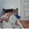 Tarkáról álmodik a gulyás (olaj, vászon 30×30)