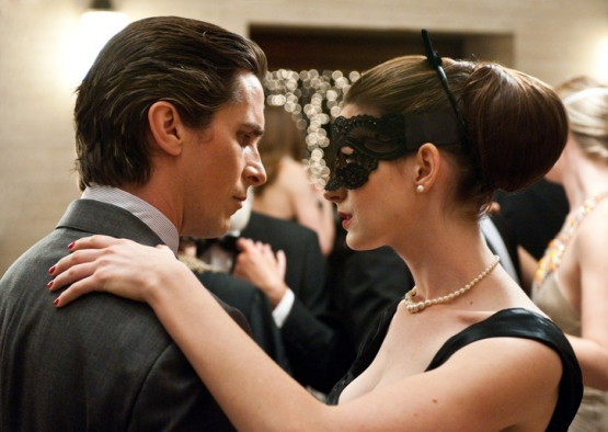 Christian Bale & Anne Hathaway