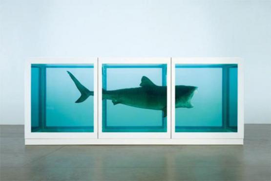 Damien Hirst: A halál fizikai lehetetlensége egy élő tudatában