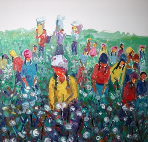 Miriam Hathout: In The Field I.