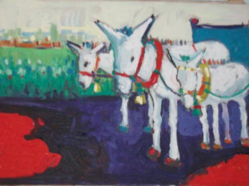 Miriam Hathout: Donkeys From The Country Side