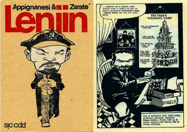 Oscar Zárate – Richard Appignanesi: Lenin for Beginners (1-2)